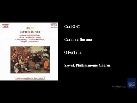 Carl Orff, Carmina Burana, O Fortuna