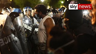 Protests grip the US after killing