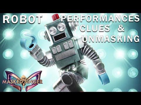 Robot: CLUES, PERFORMANCES, UNMASKING   THE MASKED SINGER   SEASON 3
