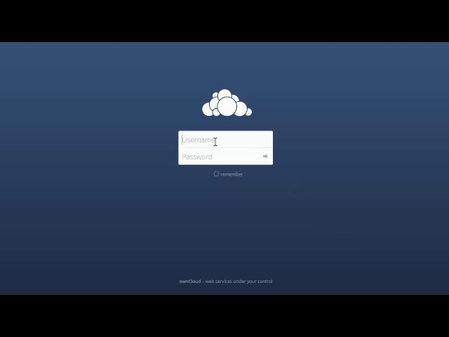 Using Owncloud