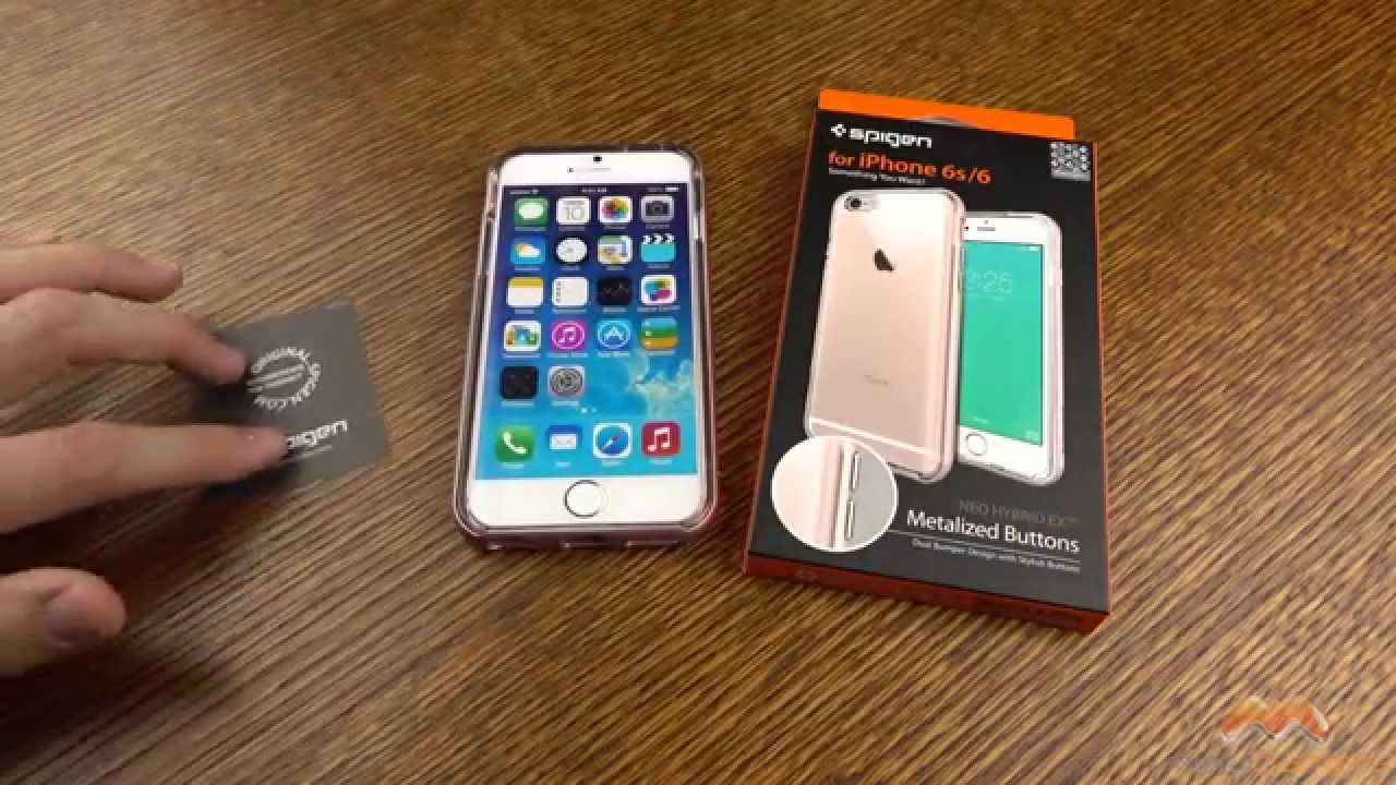 new styles 0a958 cf523 iPhone 6s Neo Hybrid EX Spigen Case