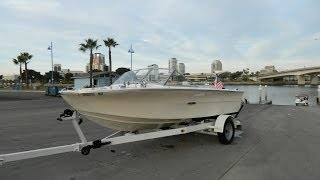 Vintage 1968 Sea Ray SRV 185 Fiberglass Boat Restoration