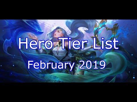Arena of Valor Hero Tier List (February 2019) - D2AoV