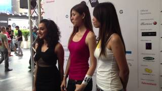 Some of the not-so-lucky participants at casting of the the X Top Model Search Malaysia 2012