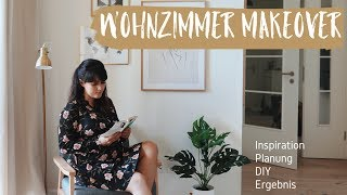 ROOM MAKEOVER WOHNZIMMER I DIY, SECOND HAND, DEKORATION