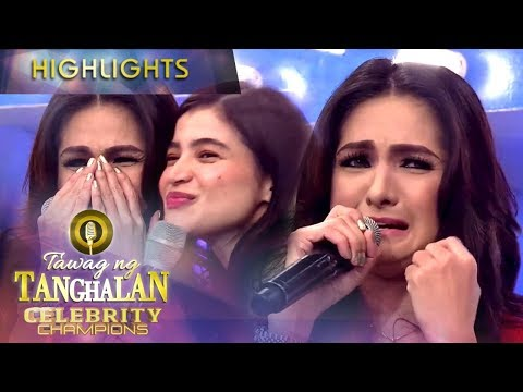 Ynez gets teary-eyed after her performance | Tawag ng Tanghalan