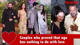 Major age difference between Bollywood Couples | Compilation | Filmfare
