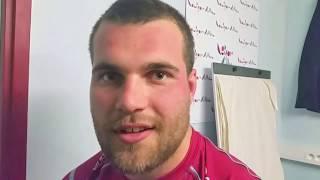 Pro D2 : Jérome Rey, pilier du CSBJ, savoure la victoire contre Aurillac (20 - 3)