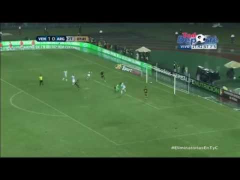 Martinez vs Argentina 2-0 Venezuela Vs Argentina