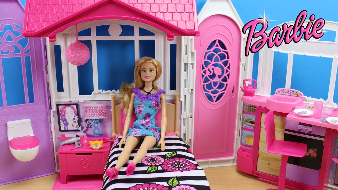 Camper di barbie v6981 barbie mattel giocattoli for Casa di barbie youtube