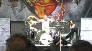 Sevendust - Denial LIVE - Carnival of Madness 2010 (Canandaigua, NY)