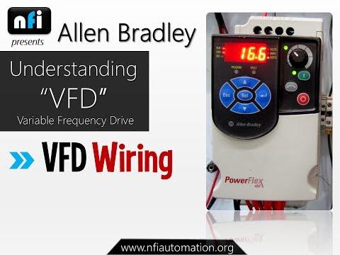 Allen dley Powerflex 4M- Understanding VFD Wiring on