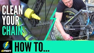 Clean & Lube Your E Mountain Bike Chain Correctly | EMBN How To