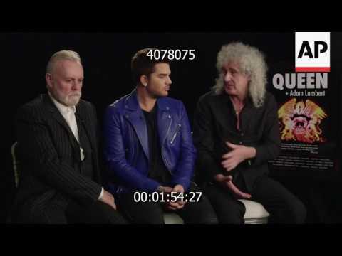 2017-01-26 Queen & Adam Lambert announce new North America tour