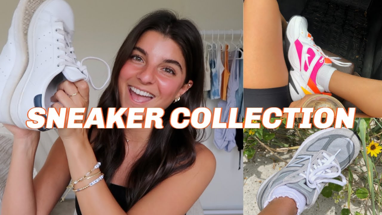 SNEAKER COLLECTION + STYLING | Converse, Adidas, New Balance & More