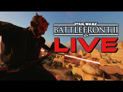 LIVE Star Wars Battlefront 2-  NEW IMPROVED NO HOLO MOD! Ewok mode Gone :(