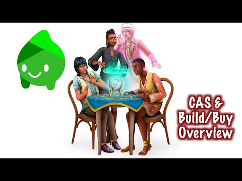The Sims 4: Paranormal Stuff Pack | CAS & Build/Buy Overview |