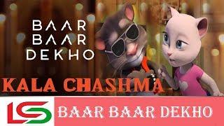 Kala Chashma Talking Tom Version Video Song Baar Baar Dekho 2017 HD 720p