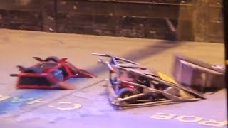 RC Combat Robot Wars - Satanix 1.666 v Ironside 2 v Beauty 2 - 2014 Fighting Robots FW Champs Q6 #7