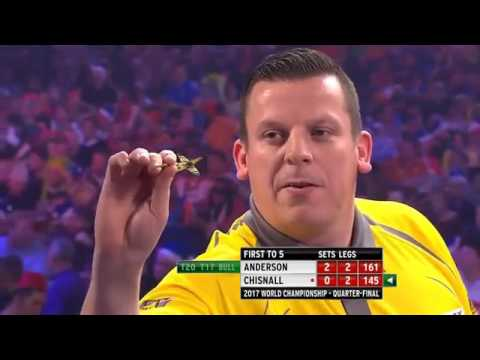 BEST DARTS MATCH IN 2016| Gary Anderson vs Dave Chisnall|2017 World Darts Championship| Part 2