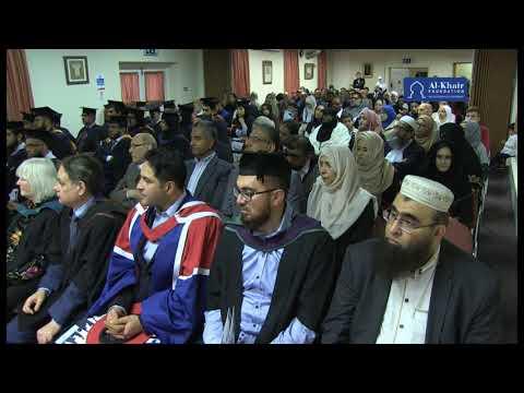 Markfield Institute Graduation Leicester 2017