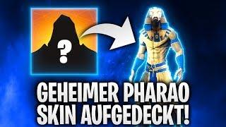 GEHEIMER PHARAO SKIN AUFGEDECKT! 🤡 | Fortnite: Battle Royale