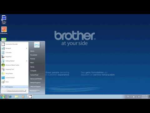 How Scan Using OCR on the Brother Multi-Function Center Printer