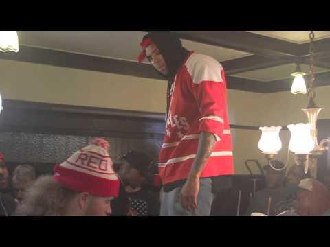 Compton Menace Ft/ Chris Brown ''Put On My N*gga's'' Behind The Scenes (RAPPLUG)