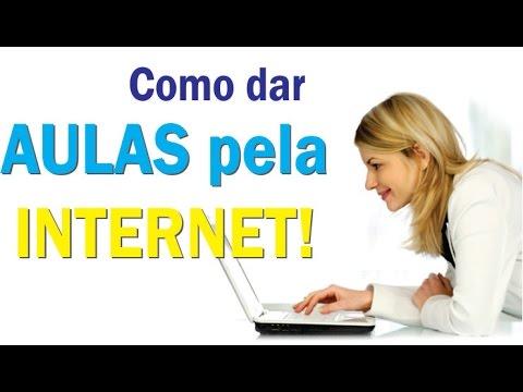 Saiba Como DAR AULAS PELA INTERNET com SKYPE! | Seja Um Professor Online