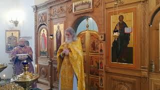 Отец Александр Коблов. 10 марта 2018