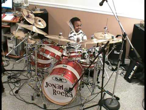 System of a Down - Toxicity, Drum Cover, 5 Year Old Drummer, Jonah Rocks