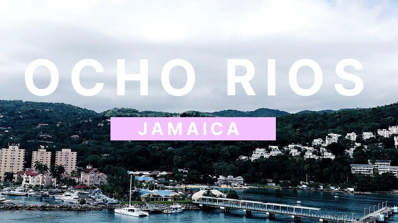 CARIBBEAN CRUISE TRAVEL VLOG (pt.2): exploring Jamaica+climbing a waterfall OMG!!!