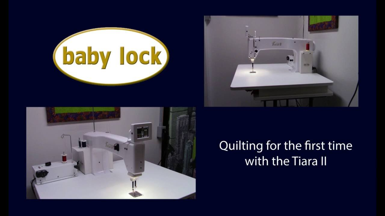 TIARA II from Baby lock - How to thread the quilting machine - YouTube : tiara quilting machine - Adamdwight.com