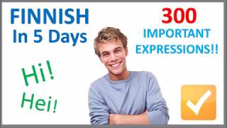 Learn Finnish in 5 Days - Conversation for Beginners