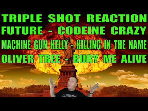 Triple Shot Reaction: Future, Machine Gun Kelly and Oliver Tree