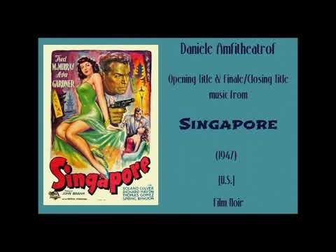 Daniele Amfitheatrof: Singapore (1947)