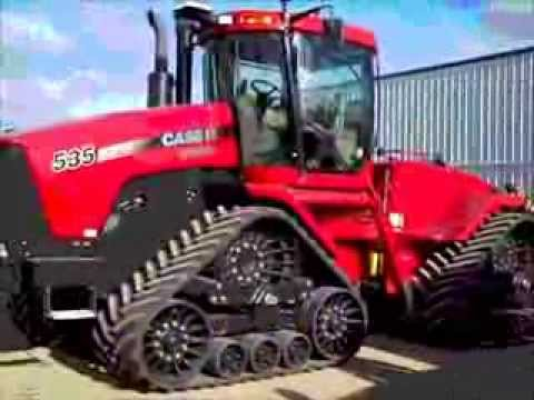 2011 CaseIH 535 Quad Trac Tractor Sold on Prinsburg, MN