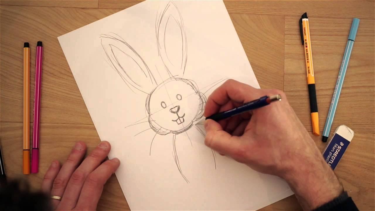 Disegno Bagno Da Colorare : Disegni di pasqua da colorare per bambini il coniglio youtube