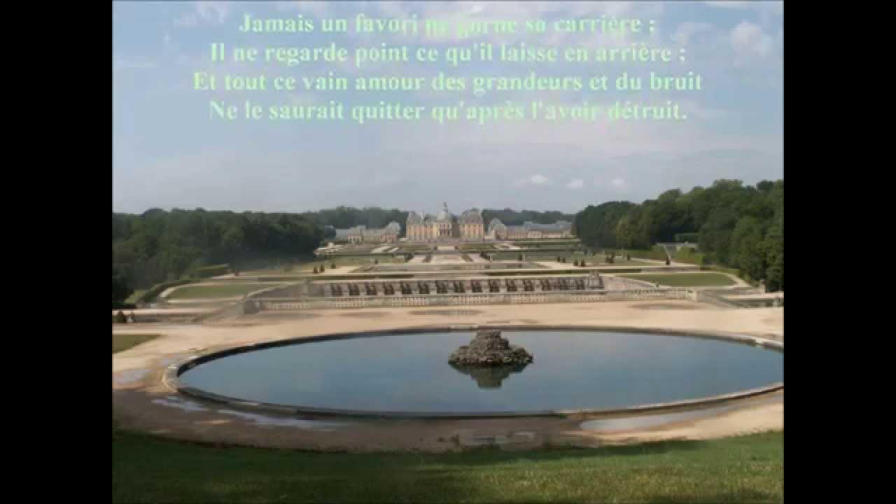 La fontaine l gie aux nymphes de vaux youtube for La fontaine aux cuisines