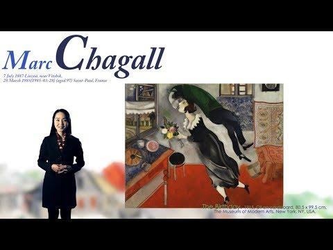미술가 마르크 샤갈 - artist Marc Chagall