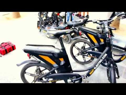 Electric Bikes and Scooters in Barcelona