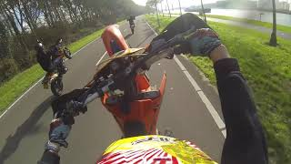 Supermoto Zuid Holland Euro trip