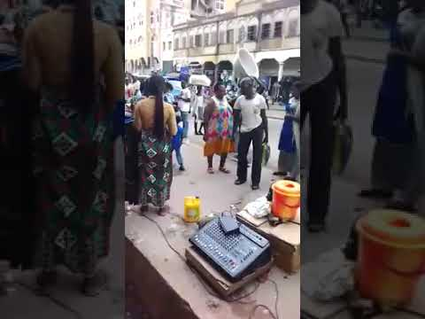 Hot Video : Two Street 'Stomach' Preachers exchange blows over preaching space