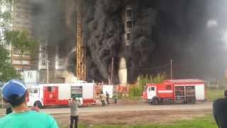 Пожар на Мичуринском