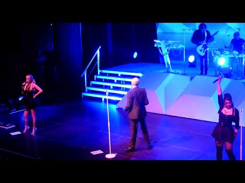 The Human League - (Keep Feeling) Fascination Live @ AB Brussels Belgium 2012
