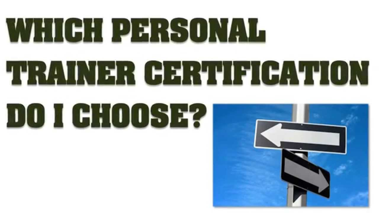 Which Personal Trainer Certification Kaizen Outdoor Fitness Youtube