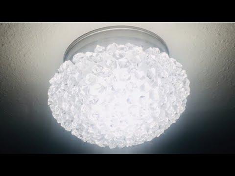 dollartree-diy-ceiling-light-|-glam-light