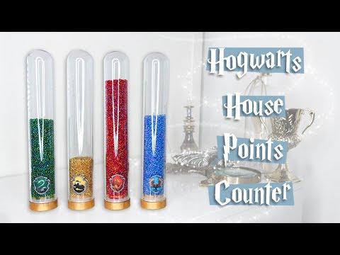 HARRY POTTER DIY   Hogwarts House Points Counter   Cherry Wallis