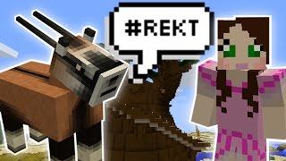 - Minecraft SPEAKING ANIMALS MISSION Custom Mod Challenge S8E36