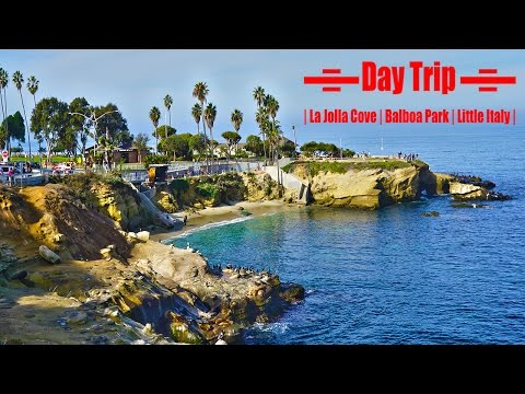 Day Trip: Seattle to San Diego | La Jolla Cove | Balboa Park | Little Italy |
